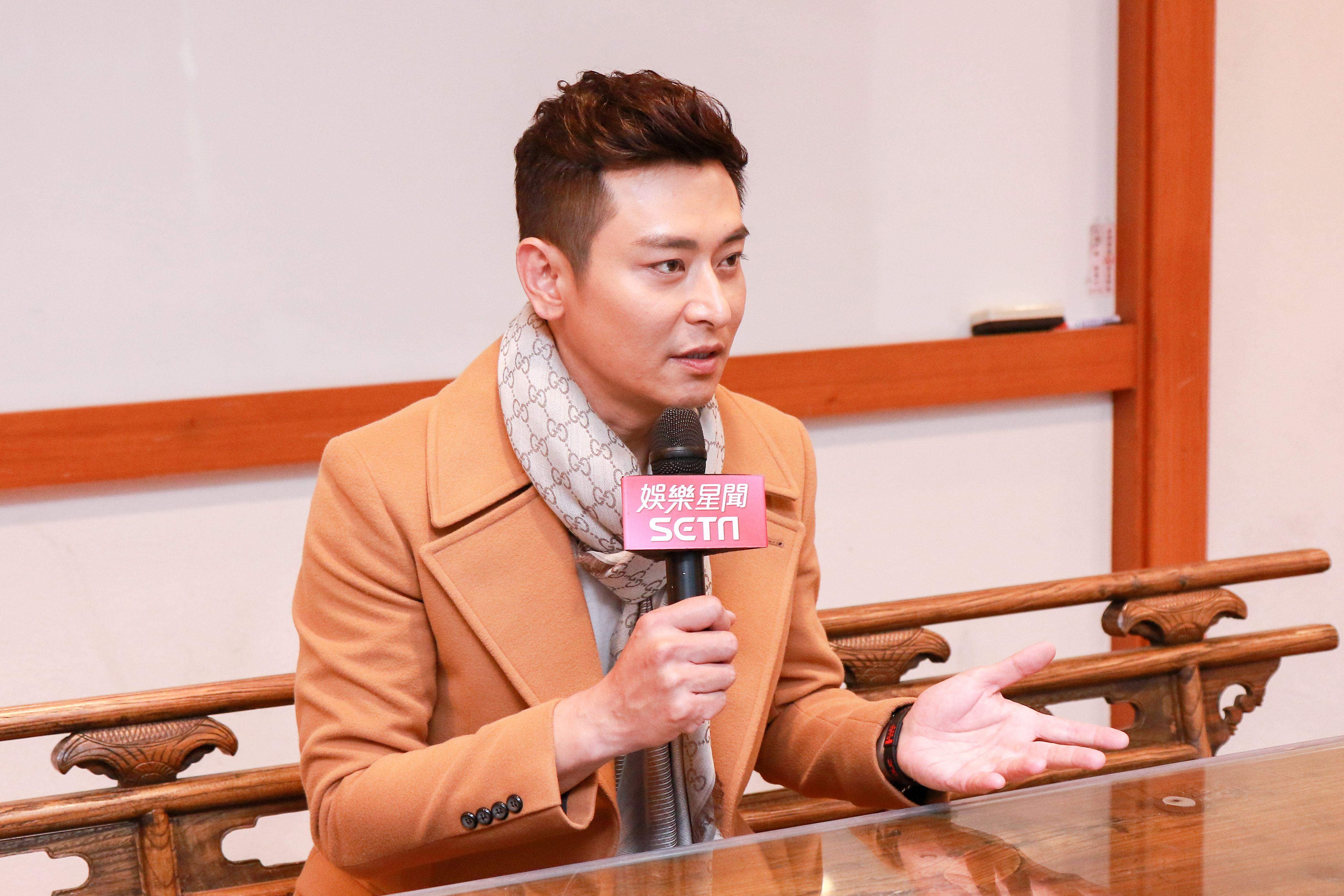 陳冠霖炮仔聲娛樂星聞專訪。(記者林士傑/攝影)
