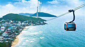 ▲富國島擁有全世界最長海上纜車(圖/盈達旅遊)