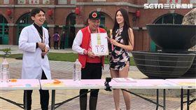 趙正平、辣模翁子涵《綜藝3國智》 圖/台視提供