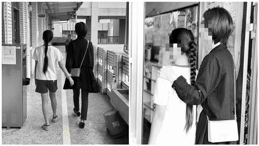 女兒遭霸凌 虎媽帶她反擊,霸凌,反擊,賞巴掌,私刑(圖/翻攝自臉書)