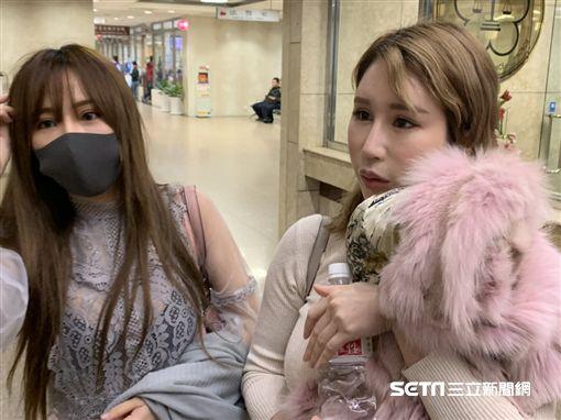 辛尤里(右),邱默默(左),網紅,陳佳君,MC姊,北院。翻攝畫面
