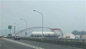 盧秀燕,空汙,谷關,洲際棒球場,台中,謝志忠 圖/謝志忠臉書