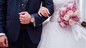 婚紗,婚禮,結婚。(圖/翻攝自Pixabay)