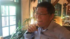 柯文哲,刮鬍刀,台北市長,刮鬍子 圖/三立新聞網拍攝