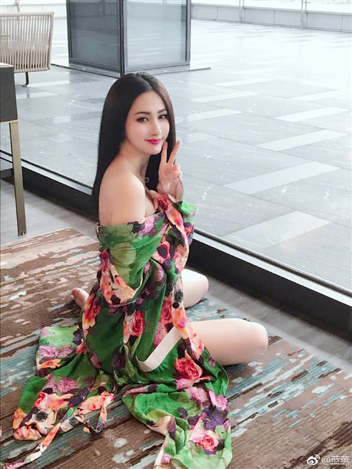 藍心妍/微博