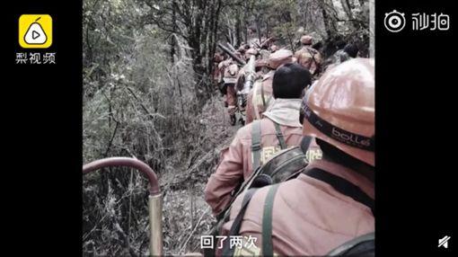 26歲罹難消防員留「最後一句話」(圖/翻攝自梨視頻)