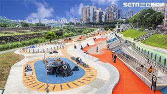 搶先看!台北市最大共融式河濱遊戲場