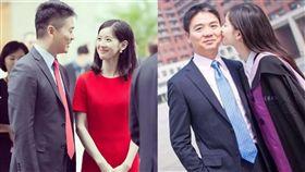 劉強東,奶茶妹,章澤天,婚變/翻攝自微博
