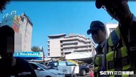 準新郎酒駕被逮 來不及公證先進警局/翻攝畫面