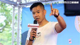 陳建州未出席公益活動24小時未闔眼從泰國趕回台灣。(圖/記者蔡世偉攝影)