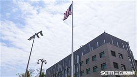 AIT美國在台協會內湖新館落成。 (圖/記者林敬旻攝)