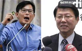 黃國昌,謝龍介(合成圖/資料照)