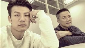 陳志強與江宏傑在《炮仔聲》飾演同學,畢業校名公開笑翻網友。(圖/翻攝自臉書)