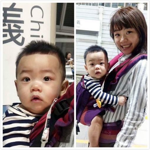 蔡阿嘎和老婆帶兒子返鄉掃墓。(圖/翻攝自蔡桃貴、嘎嫂二伯Instagram)