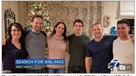 (圖/翻攝自每日郵報)美國,舊金山,兄弟姊妹,DNA