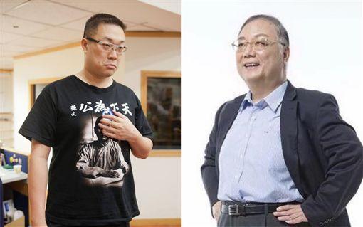 朱學恆,郭台銘,杜紫宸,2020總統 (合成圖/翻攝自臉書)