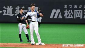日本火腿西川遙輝。(資料照/記者王怡翔攝影)