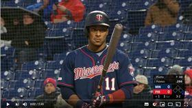 ▲雙城波蘭柯(Jorge Polanco)4個打席完成完全打擊紀錄。(圖/翻攝自MLB YouTube)