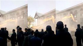 中國,獨裁,天主教,教堂,觀音,宗教,禁教令 圖/翻攝自臉書