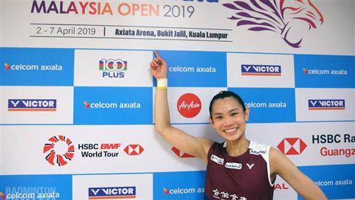 ▲戴資穎在馬來西亞羽球公開賽後受訪,東京奧運將是生涯最終戰。(圖/翻攝自戴資穎臉書)