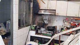 氣爆,廚房,台南