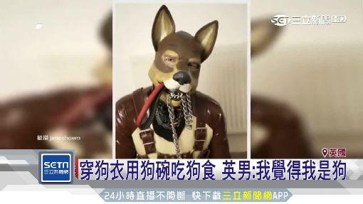 穿狗衣用狗碗吃狗食 英男:我覺得我是狗