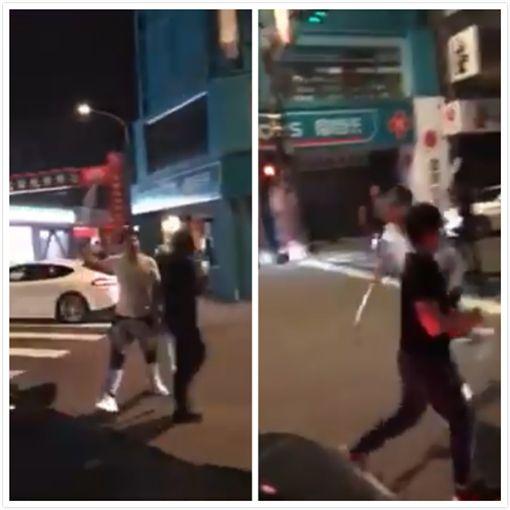 連千毅嗆三蘆角頭「都吃屎」 兄弟人殺至總統府旁堵人示威(圖/翻攝自YouTube)