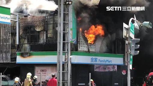 台南,髮廊,火警,中山路
