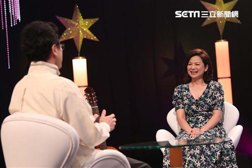 楊貴媚、主持人李哲藝《台灣的聲音》圖/民視提供