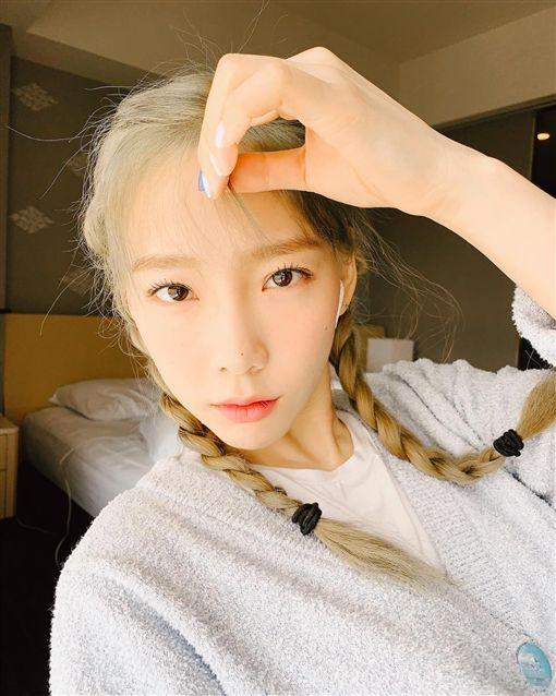 「少女時代」金太妍。翻攝IG