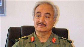 利比亞軍事強人哈夫塔(Khalifa Haftar)。(圖/翻攝自維基百科)