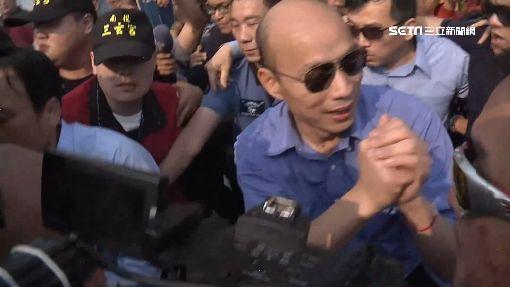搶看韓國瑜引扒手 攤商遭竊2萬多元
