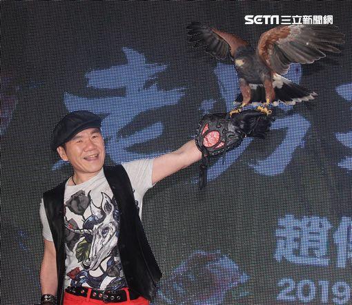 搖滾老男孩趙傳出道30年,首次台北小巨蛋主秀場。(記者邱榮吉/攝影)