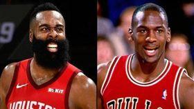 NBA/比肩喬神!哈登單季數據超扯 NBA,休士頓火箭,James Harden,Michael Jordan,紀錄 翻攝自NBA官方推特