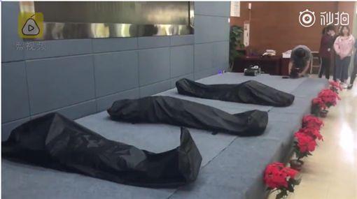 體驗死亡,屍袋,大陸,重慶/梨視頻