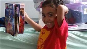 5歲自閉症女童吉兒布。(圖/翻攝自Chantel DuBois臉書)