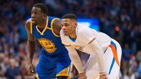 NBA/聯盟最過譽!這2人並列冠軍 NBA,過譽,奧克拉荷馬雷霆,Russell Westbrook,金州勇士,Draymond Green 翻攝自推特