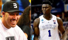 籃球/認真?球爸:我兒子比威廉森強 NBA,洛杉磯湖人,LiAngelo Ball,Zion Williamson 翻攝自推特