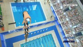 疊羅漢跳水1200