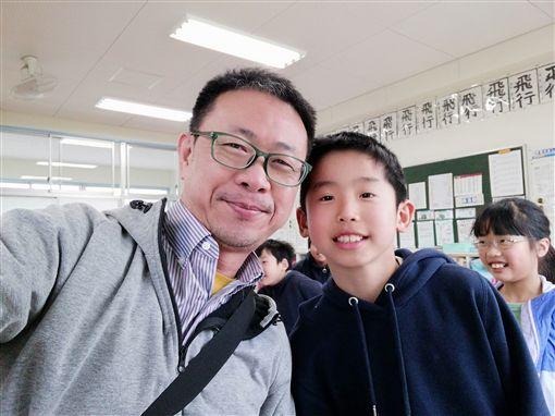 日本靜岡袋井市小學,小學生(三立新聞網駐日特派 潘彥瑞拍攝)