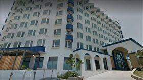 墾丁泊逸飯店停業成治安死角。(圖/翻攝自Google Map)