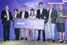 日本寫真女星「星名美津紀」來台代言區塊鏈企業活動。(記者林士傑/攝影)