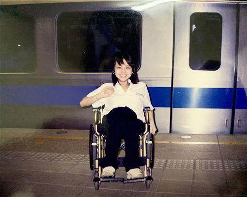 輪椅正妹,金剛芭比,林欣蓓(受訪者提供)