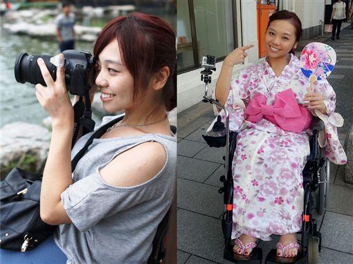 輪椅正妹,金剛芭比,林欣蓓