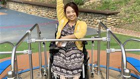 輪椅正妹,金剛芭比,林欣蓓(記者郭奕均攝影)