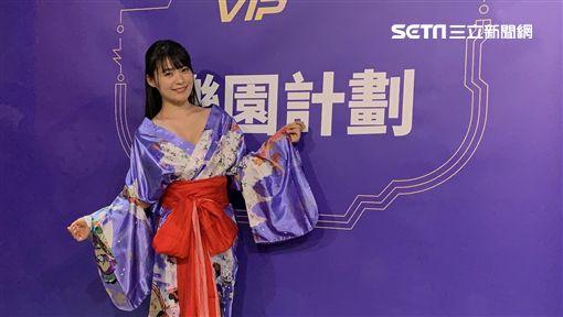 台北,寫真女優,星名美津紀,H罩杯,童顏巨乳,PP.VIP,樂園計畫,區塊鏈,數位貨幣。呂品逸攝