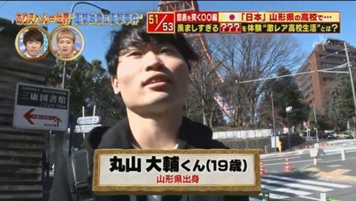 開後宮?全校就他一個男的 「戰」159女悲慘下場曝光圖翻攝自東京電視台