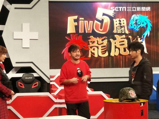 KID錄《FIVE鬪!龍虎門》圖/記者李依純攝影