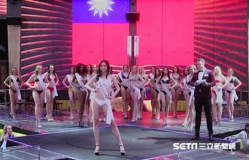 第9屆台灣小姐冠軍高曼容赴歐比賽/高曼容授權提供