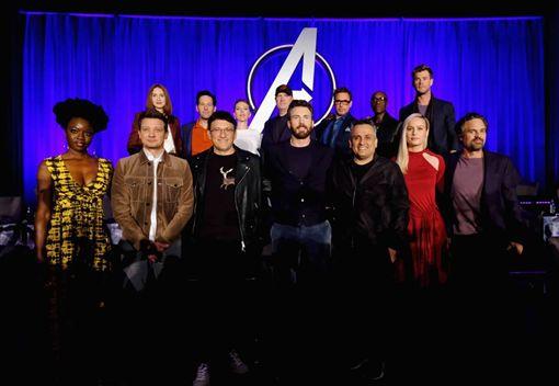 復仇者聯盟4,日前舉行全球記者會。(圖/翻攝復仇者自臉書))
